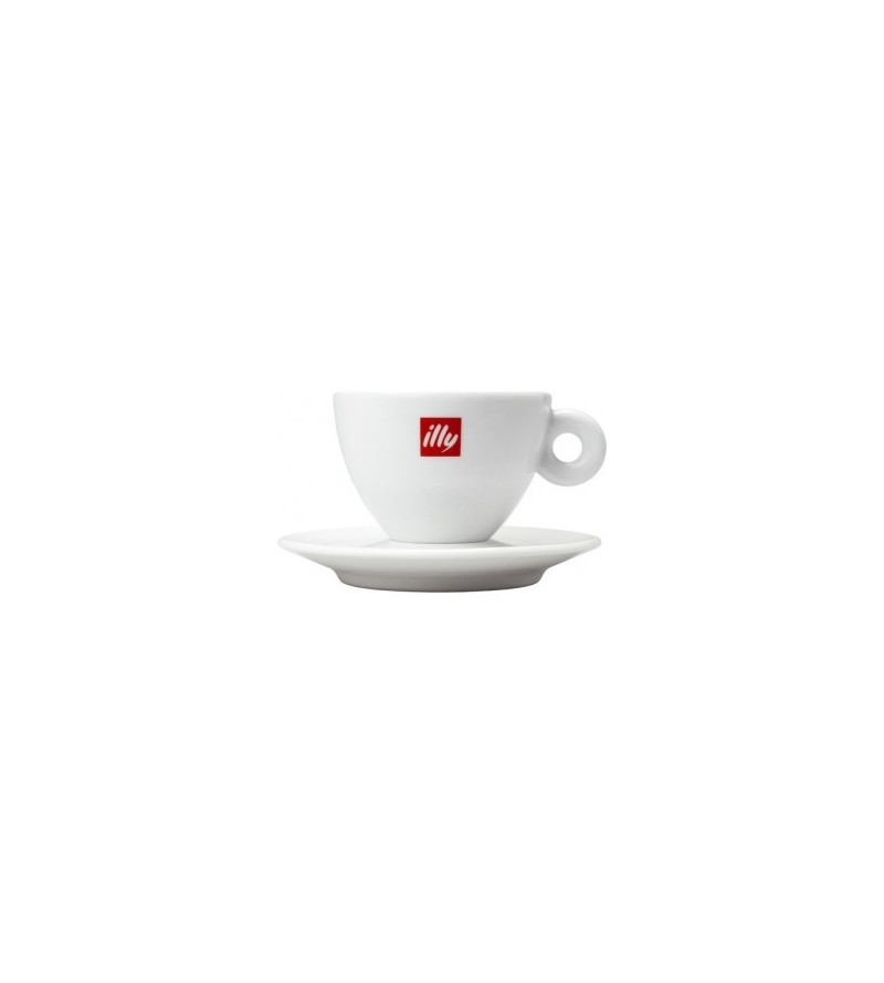 Tasses illy capuccino Original porcelaine - lot de 6